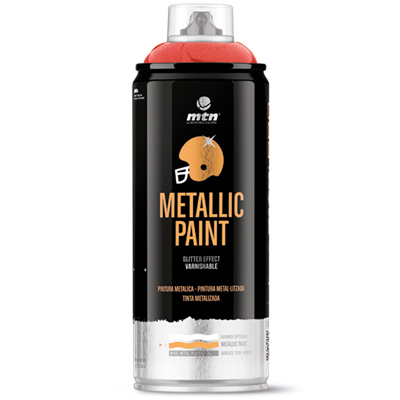 MTN PRO Metallic Paint 400ml Metalliclack Spraydose