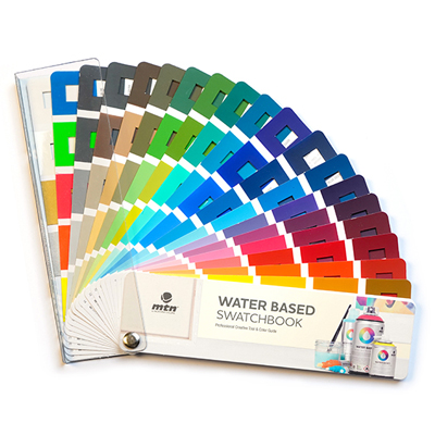 MONTANA COLORS Color Fan Swatchbook MTN WATERBASED 300
