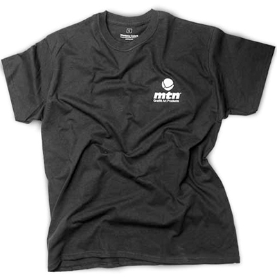 MONTANA COLORS T-Shirt MTN LOGO BACK black/white