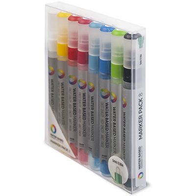 MTN WATER BASED Paint Marker 5mm 8er Set