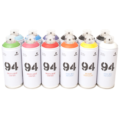 MTN 94 400ml Spray Cans 12er Pack A