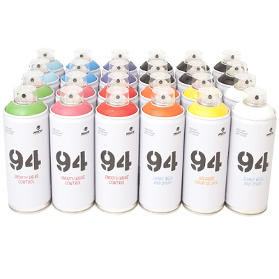 MTN 94 400ml Spraydosen 24er Pack