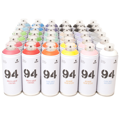 MTN 94 400ml Spraydosen 36er Pack