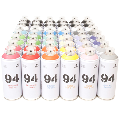 MTN 94 400ml Spray Cans 48er Pack