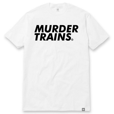7TH LETTER T-Shirt MURDER TRAINS white