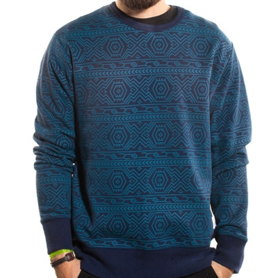 WRUNG Sweater NAS blue
