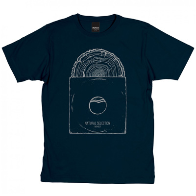 DEPHECT T-Shirt NATURAL SELECTION navy