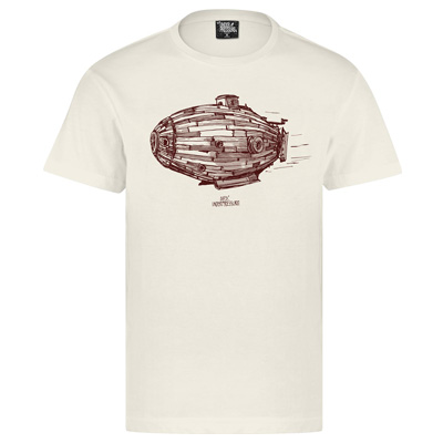UNDERPRESSURE T-Shirt NAUTIQUE natural/brown