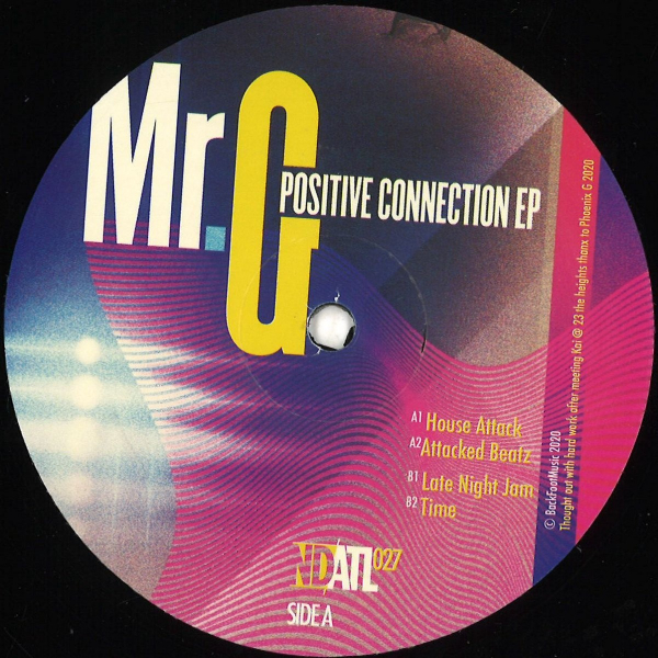 Mr G - Positive Connection Ep - Vinyl 12""