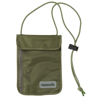 CLEPTOMANICX Bag NECK POUCH dusty olive