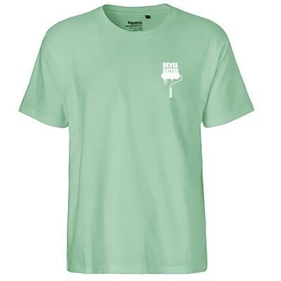 T-Shirt NEVER SNITCH mint