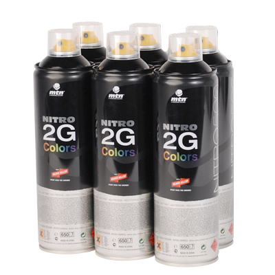 MTN NITRO 2G COLORS 500ml Spraydose 6-Pack