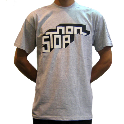 NONSTOP T-Shirt LOGO heather grey