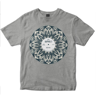 DEPHECT T-Shirt NURTURE heather grey