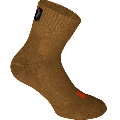 FUSSVOLK Socks HALF nut brown