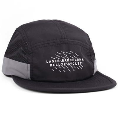 LASER 5Panel Cap NY TO BCN black