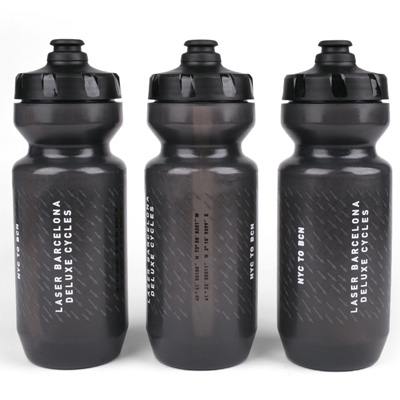 LASER Water Bottle NYC TO BCN black
