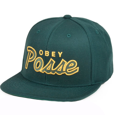 OBEY Snap Back Cap OBEY POSSE spruce