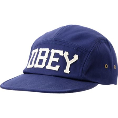 OBEY 5Panel Cap STADIUM peacoat