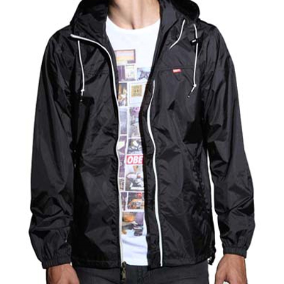 OBEY Jacke STANDARD ISSUE WINDBREAKER black