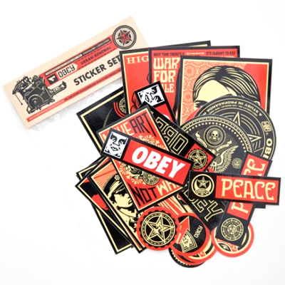 OBEY Sticker Pack Color