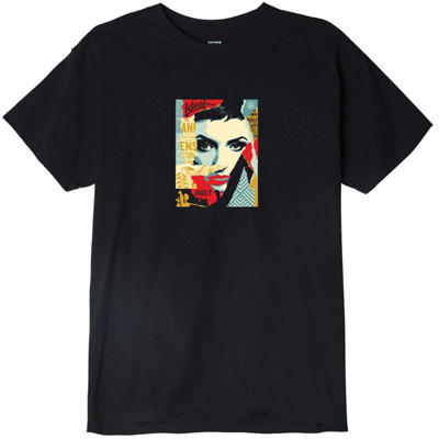 OBEY T-Shirt IDEAL POWER black
