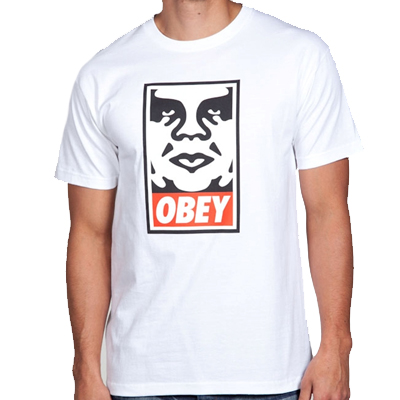 OBEY T-Shirt OBEY ICON white