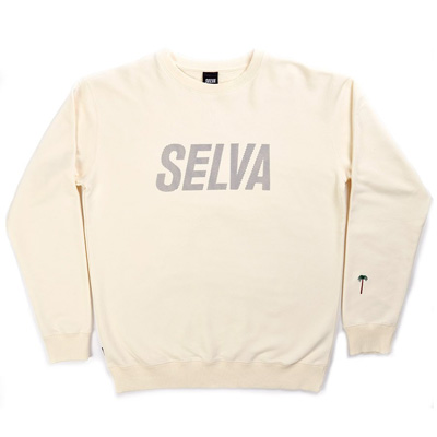 SELVA Sweater OBLIQUE SPORTS cream