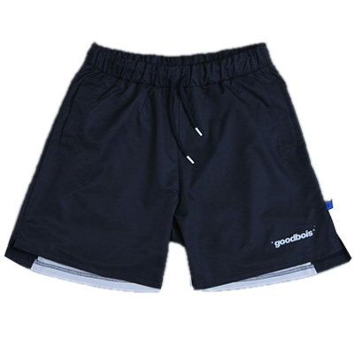 GOODBOIS Board Shorts OFFICIAL black/white