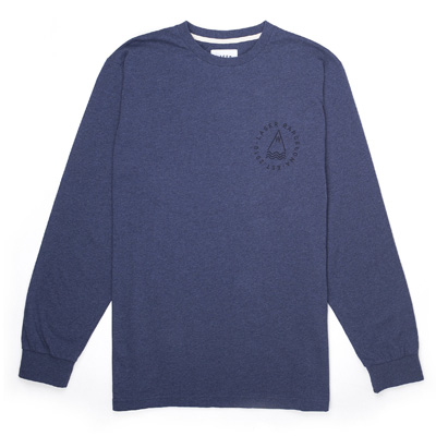 LASER Longsleeve Shirt OG DIY LOGO heather navy