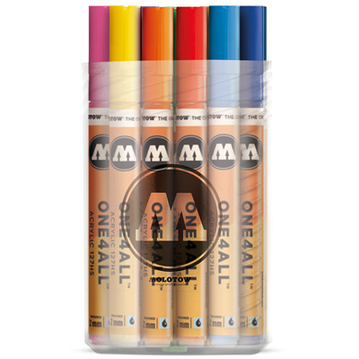 MOLOTOW ONE4ALL Acrylic Marker 127HS 2mm 20er Main-Kit I