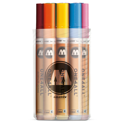 MOLOTOW ONE4ALL Acrylic Marker 227HS 4mm 12er Main-Kit 1