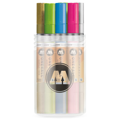 MOLOTOW ONE4ALL Acrylic Twin Marker 12er MAIN KIT 2