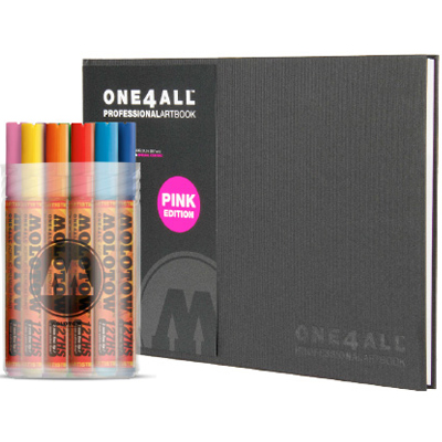 ONE4ALL PACKAGE 1 - 127HS Main Kit 1 & Artbook A4 landscape