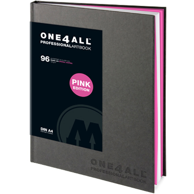 MOLOTOW ONE4ALL Professional Artbook A4 hoch