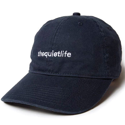 THE QUIET LIFE Dad Hat ORIGIN black
