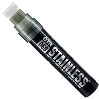DIRTY CHROME ON THE RUN MARKER INK MARKER STAINLESS OTR.069