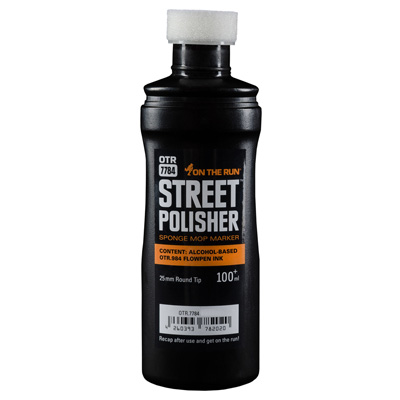 OTR 7784 STREET POLISHER black