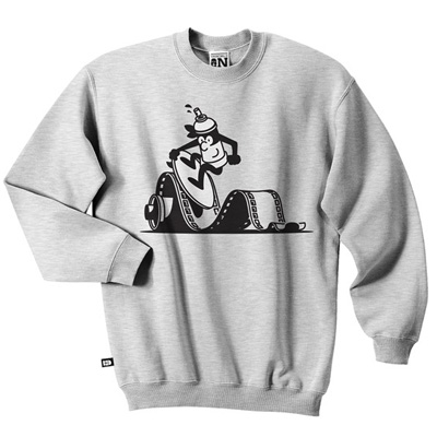 VANDALS ON HOLIDAYS Sweater PAINT N SHOOT ash grey
