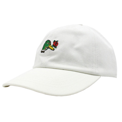 SELVA Dad Hat PATO BRAVO white