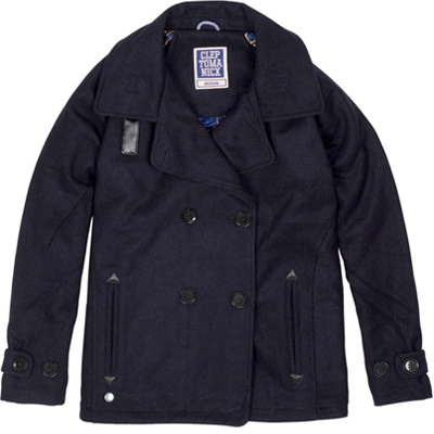 CLEPTOMANICX Girl Jacke PEACOAT dark navy