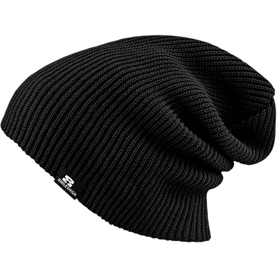 EIGHT MILES HIGH Beanie PERFECT black