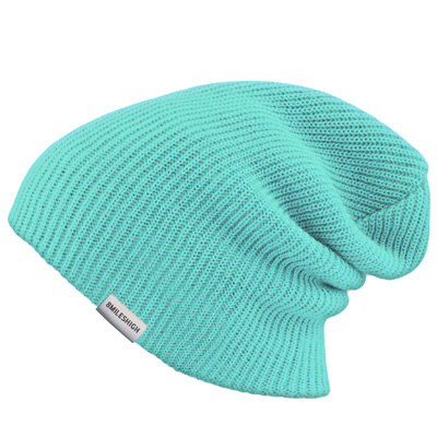 EIGHT MILES HIGH Beanie PERFECT aqua