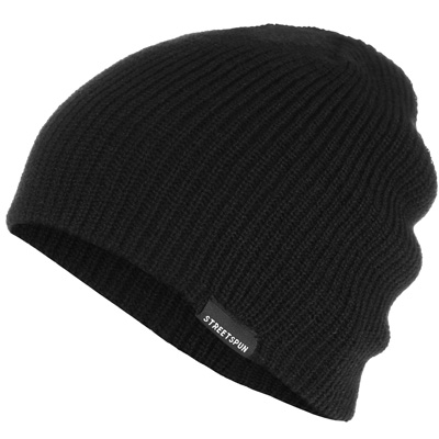 STREETSPUN Beanie PERFECT black