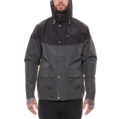 REBEL8 Jacke PIONEERS black/grey