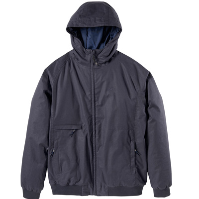 CLEPTOMANICX Winter Jacket POLARZIPPER HEMP 3 dark navy