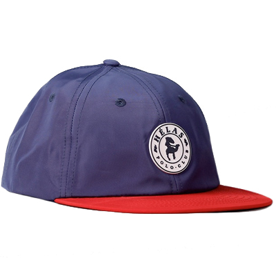 HELAS 6Panel Cap POLO CLUB navy/red