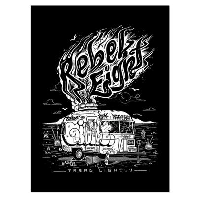 fae5335cb0 REBEL8 Mike Giant - REBEL8 5Panel Cap CAPITOL black grey Mike Giant ...