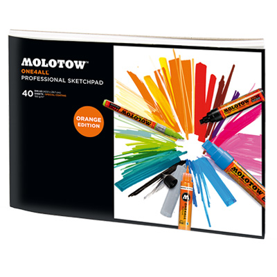 MOLOTOW ONE4ALL Professional Sketchpad A3