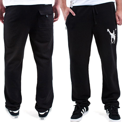 LRG Sweat Pants SCHOOLING FOOLS black